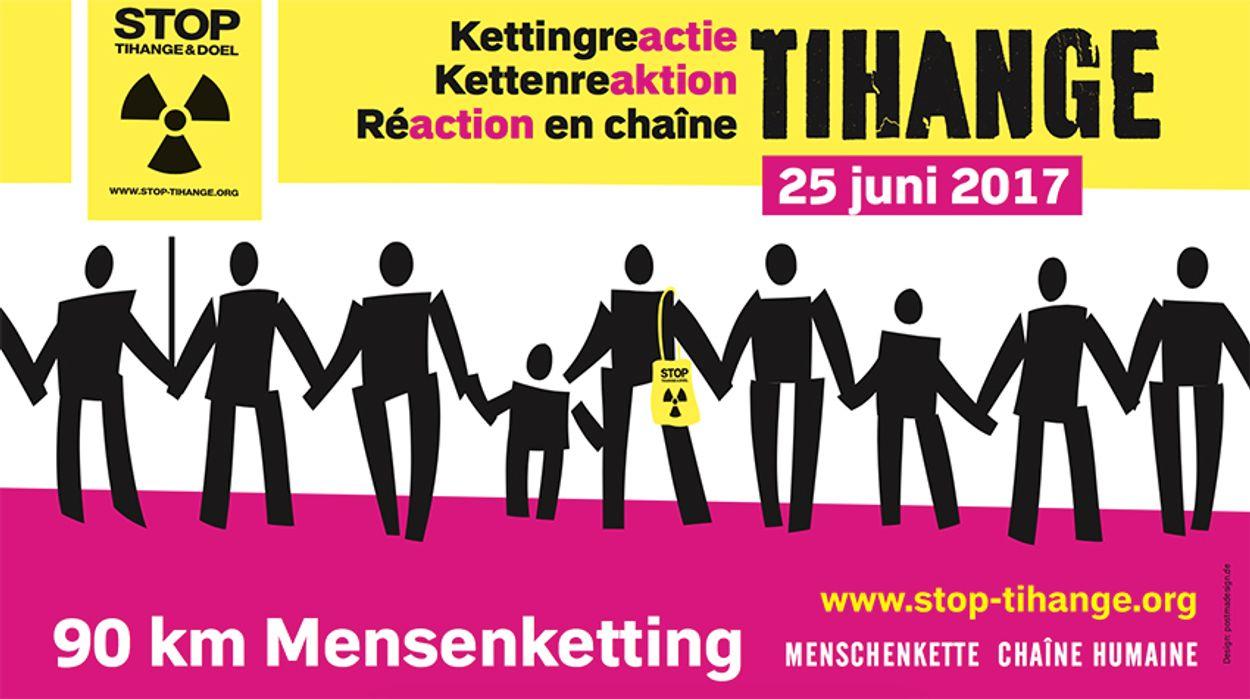 Afbeelding van Megaprotest tegen Belgische kerncentrale
