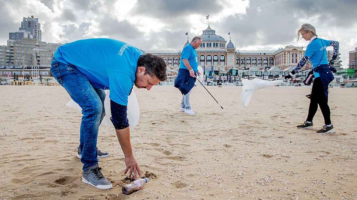 Afbeelding van 35.000 stuks zwerfvuil opgeruimd World Cleanup Day