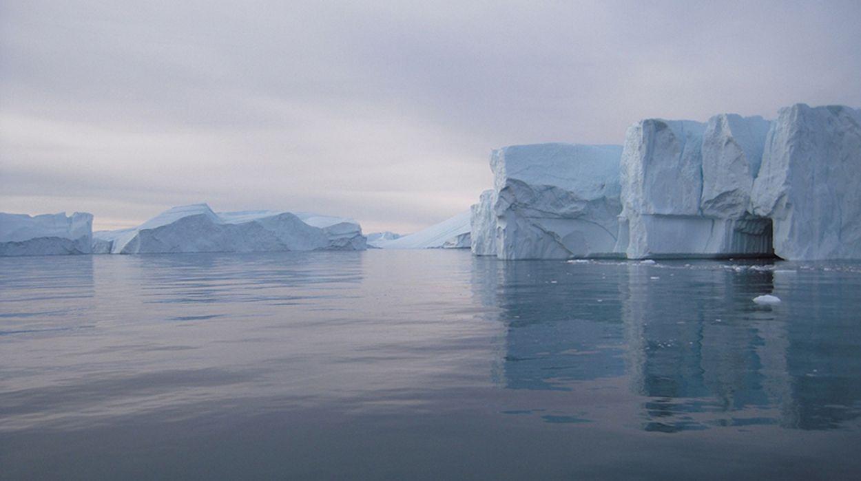 Afbeelding van Het regent meer rond de Noordpool