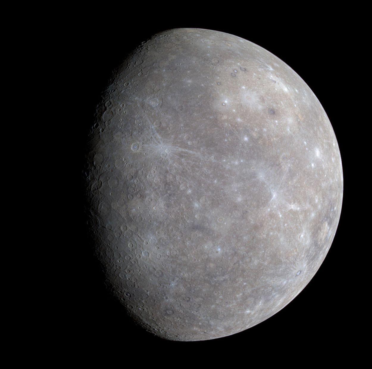 Afbeelding van Sonde neergestort op planeet Mercurius