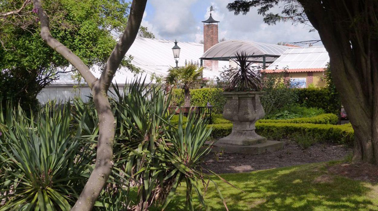 Afbeelding van Botanische tuinen - Den Helder