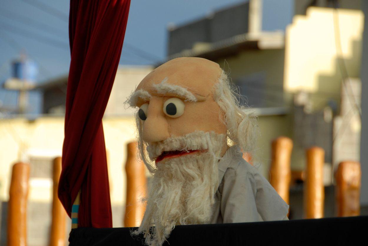Afbeelding van Dia Darwin: Darwin als Jan Klaassen