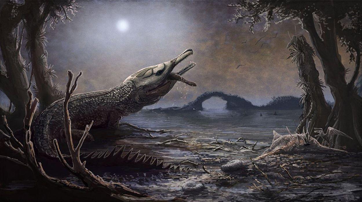 Afbeelding van Prehistorische krokodil vernoemd naar zanger Motörhead