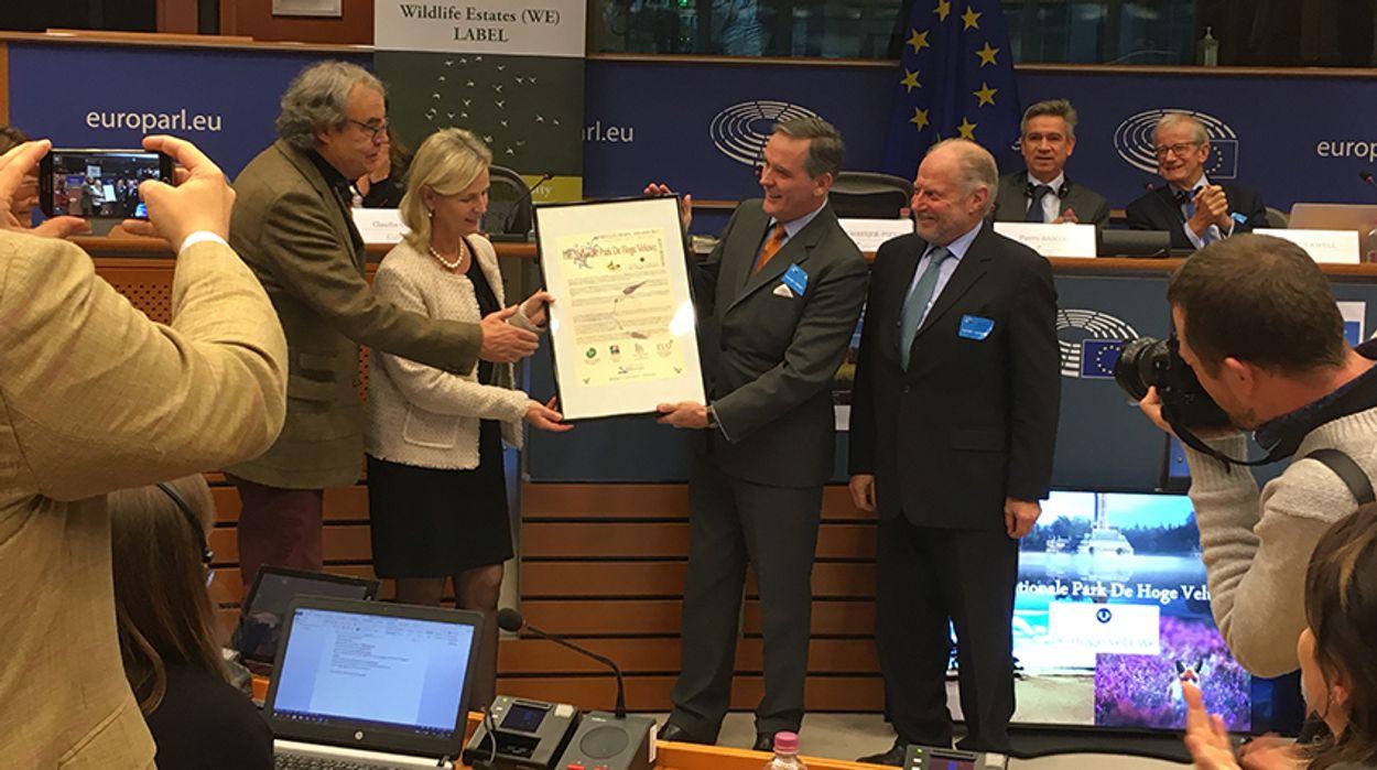 Afbeelding van De Hoge Veluwe wint Europese prijs voor biodiversiteit