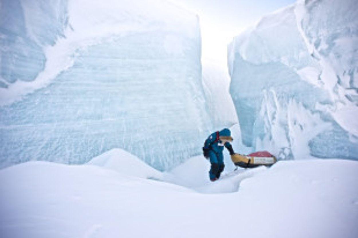 Afbeelding van Straks meer regen dan sneeuw op Noordpool