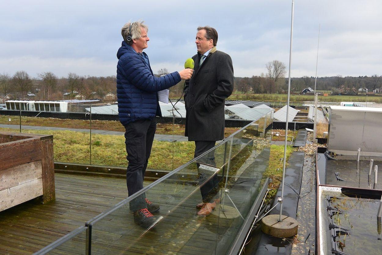 Afbeelding van Lijsttrekkers langs Groene Meetlat: D66