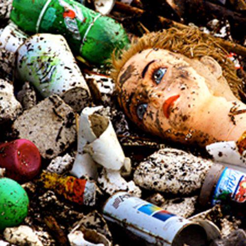 Afbeelding van Actie: oceanen stikken in plastic afval