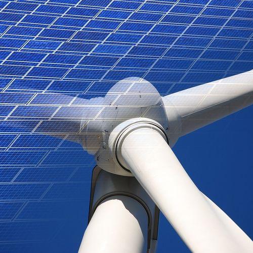 Afbeelding van 'Eerste Nederlandse zonne- en windenergiepark'