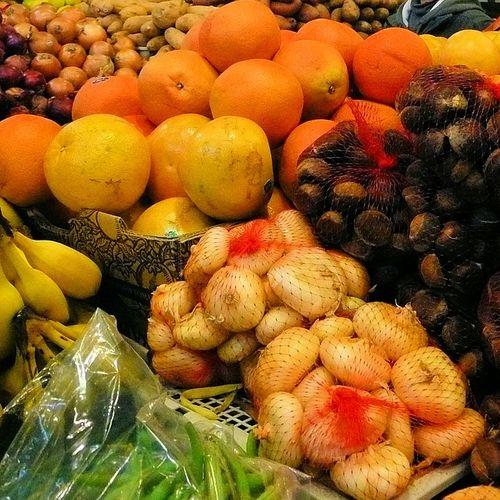 Afbeelding van Hormoonverstorend gif op fruit en groente