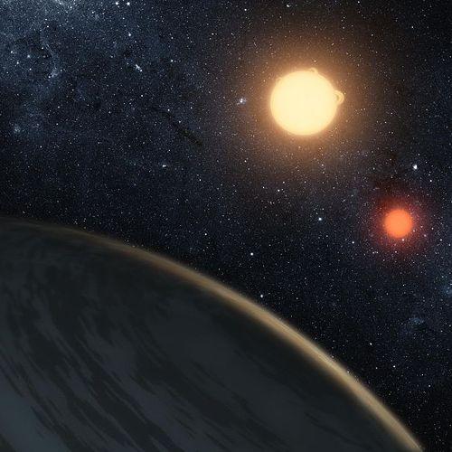 Afbeelding van Bedenk een naam voor ster en planeet